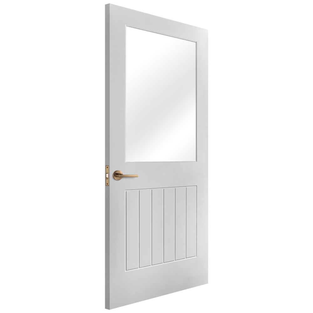 Mobile Home Cottage Door: Liberty Doors White Primed Un-Finished Cottage Doors