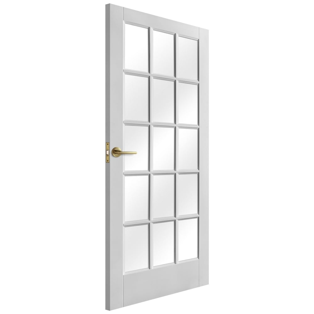 Internal White Primed SA 15L Door with Clear Glass  sc 1 st  Leader Doors : sa doors - Pezcame.Com