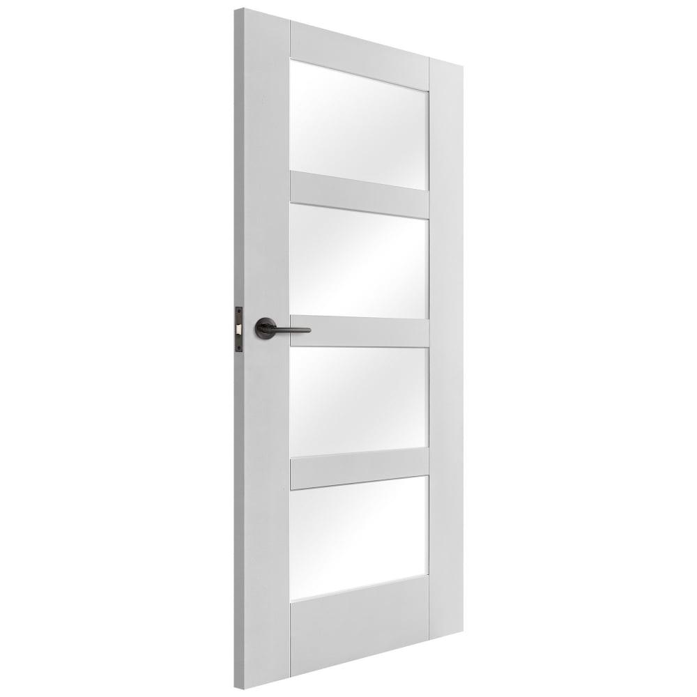 Liberty Doors White Primed Un Finished Shaker Doors