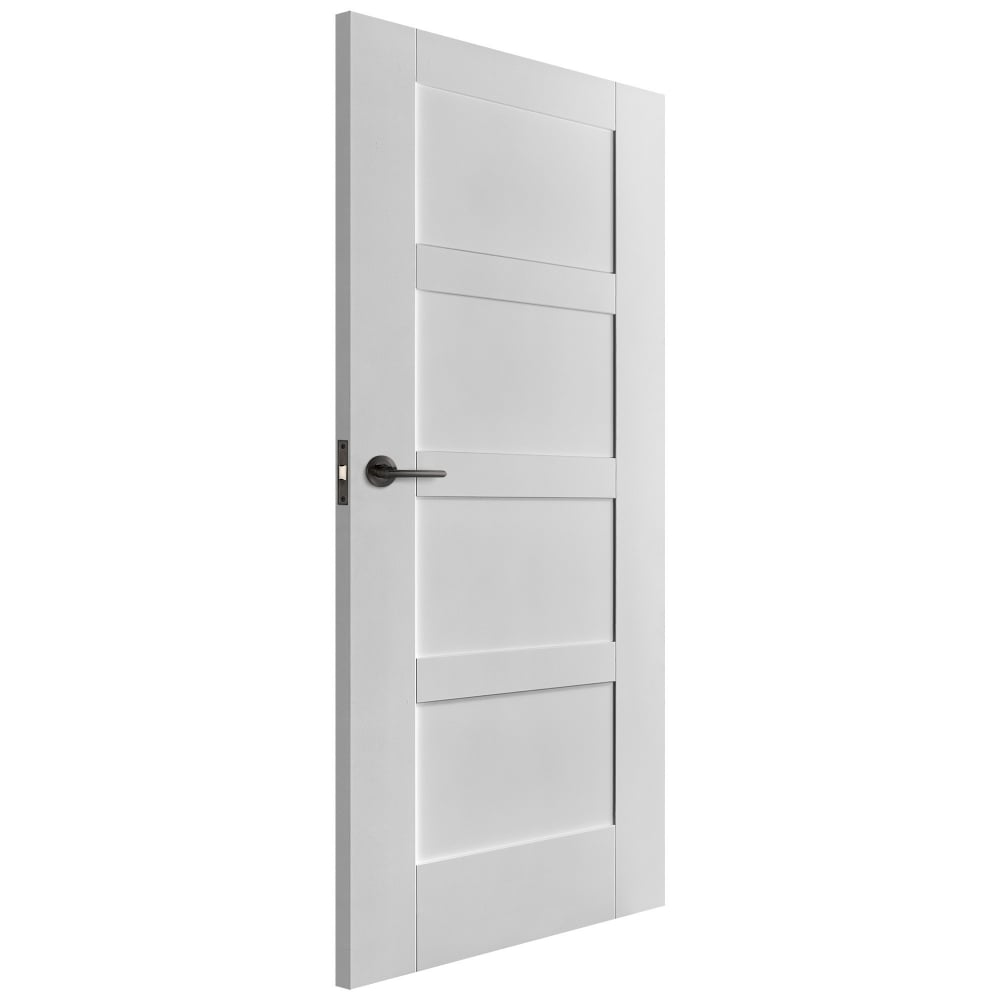 Liberty Doors Internal White Primed Shaker Fd30 Fire Door