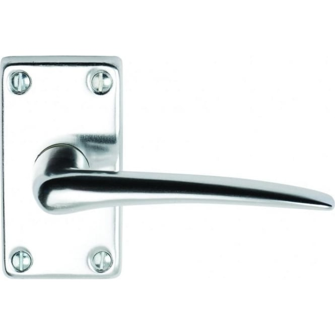 Dale Hardware Lindale Lever On Short Backplate