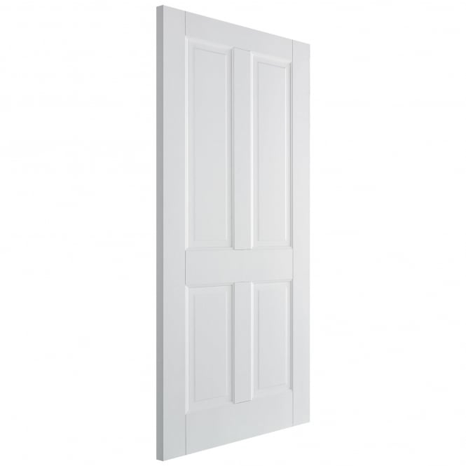 LPD Canterbury Internal White Primed 4 Panel Fire Door