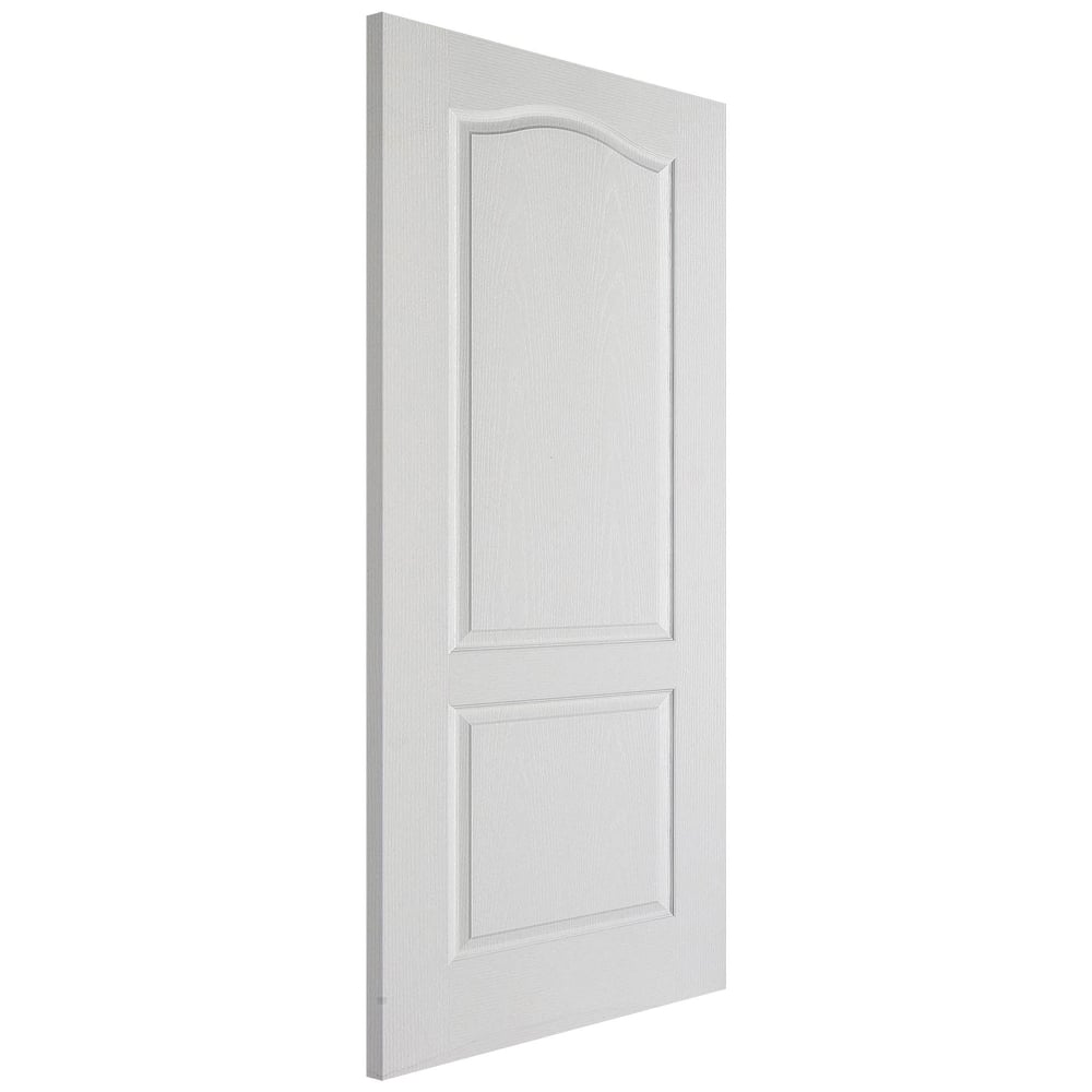 Lpd classical white moulded panelled fd30 internal fire for Moulded panel doors