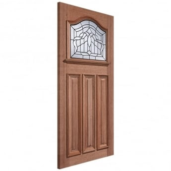 LPD Doors External Adoorable Hardwood Estate Crown Leaded Double Glazed Door