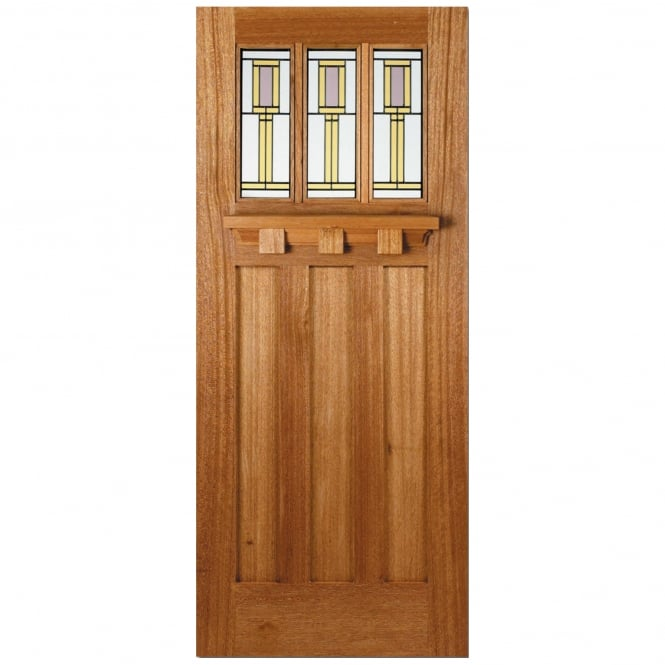 LPD External Adoorable Hardwood Tuscany Door with Florence Double Glazing