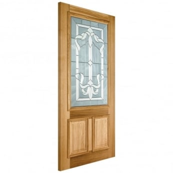LPD Doors External Adoorable Oak Cleveland Door with Zinc Double Glazing