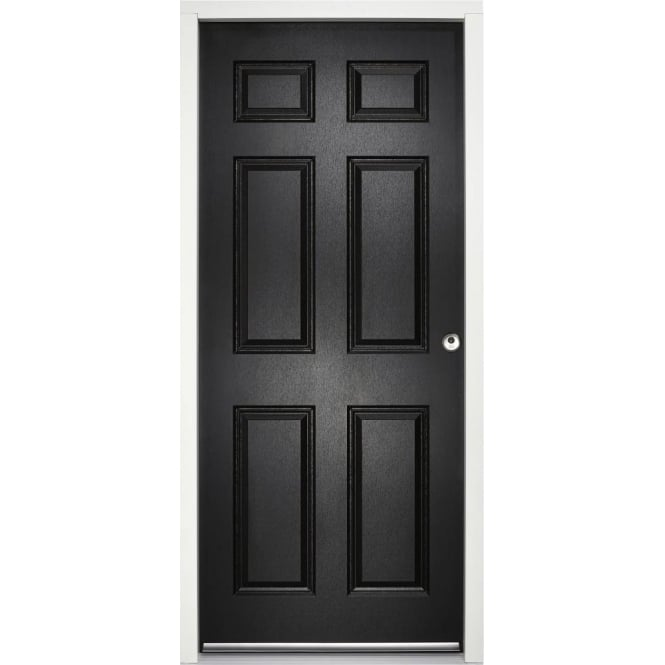 External Colonial 6P Black Fully Finished Enduradoor
