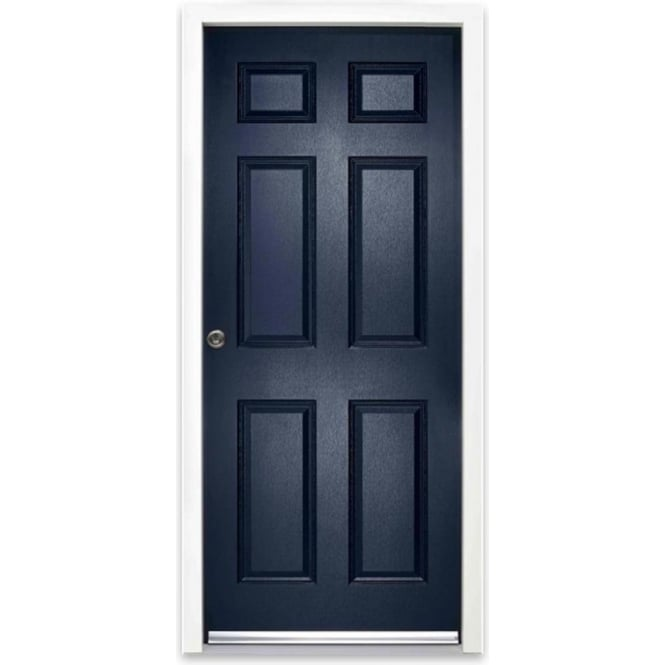 External Colonial 6P Blue Fully Finished Enduradoor