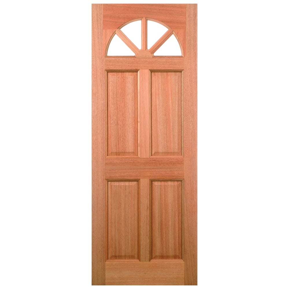 External Hardwood Unfinished Carolina 4L Door with Double Glazed Clear Glass (MTCARCGDG)  sc 1 st  Leader Doors & LPD External Hardwood Unfinished Carolina Glazed Door | Leader Doors