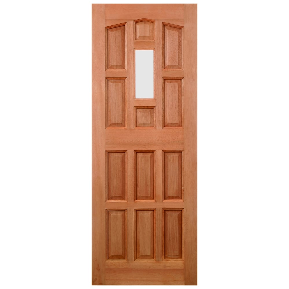 External Hardwood Unfinished Elizabethan 1L Unglazed Door (Dowelled)  sc 1 st  Leader Doors & LPD Doors External Hardwood Unfinished Elizabethan 1L Unglazed Door ...
