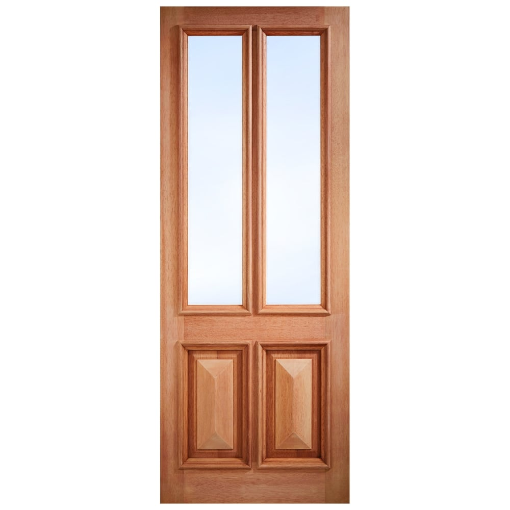 External Hardwood Unfinished Islington 2L Unglazed Door (Mortice \u0026&; ...  sc 1 st  Leader Doors & LPD Doors External Hardwood Unfinished Islington 2L Unglazed Door ...