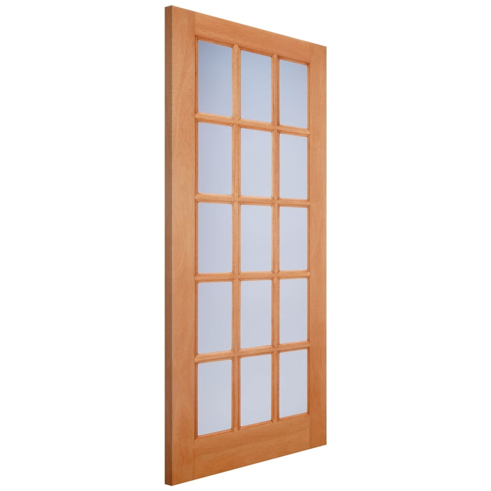 Lpd Doors External Hardwood Unfinished Sa77 15l Door With