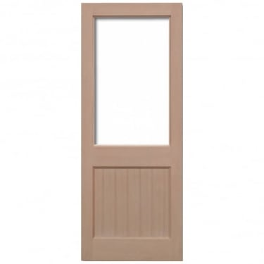 External Hemlock 2XG Unglazed Door