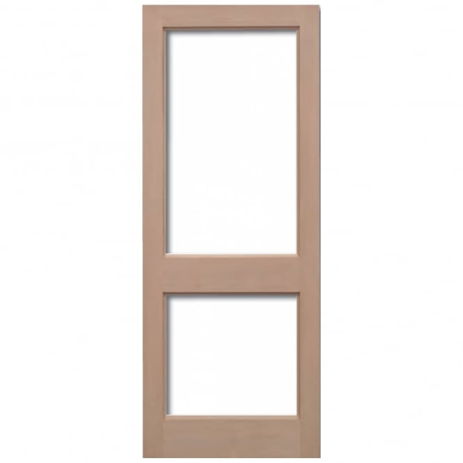 LPD External Hemlock 2XGG Unglazed Door