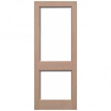 External Hemlock 2XGG Unglazed Door