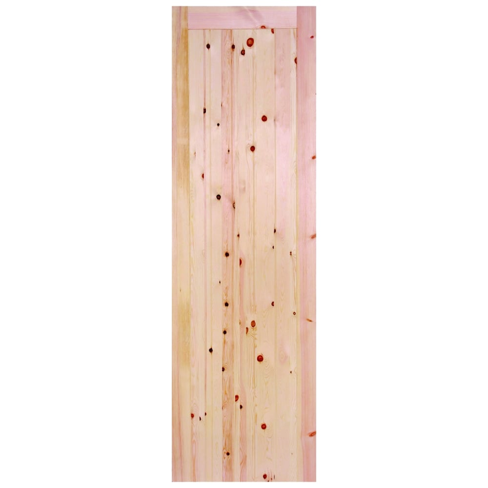 LPD External Redwood Unfinished Door | Leader Doors