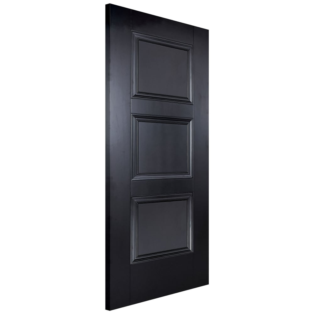 Internal Black Primed Amsterdam FD30 Fire Door (AMSBLAFC)  sc 1 st  Leader Doors & LPD Internal Black Primed Amsterdam Door | Leader Doors