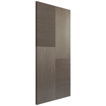 Internal Chocolate Grey Fully Finished Hermes FD30 Fire Door (CHGHERFC)