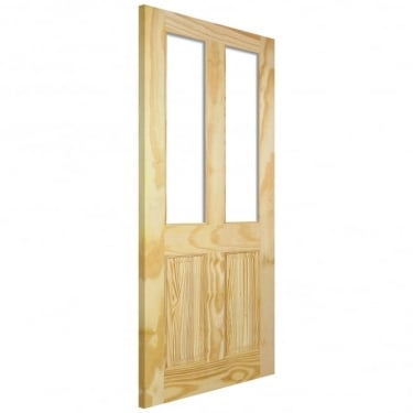 LPD Internal Elliotis Clear Pine Richmond Unglazed Door