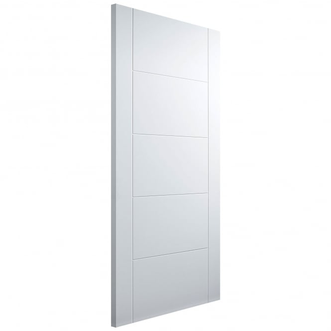 Internal Florida 5 Panel White Primed Fire Door