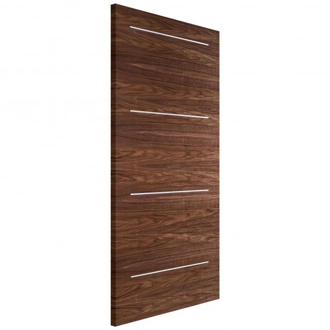 Internal Fully Finished Walnut Murcia Solid Door