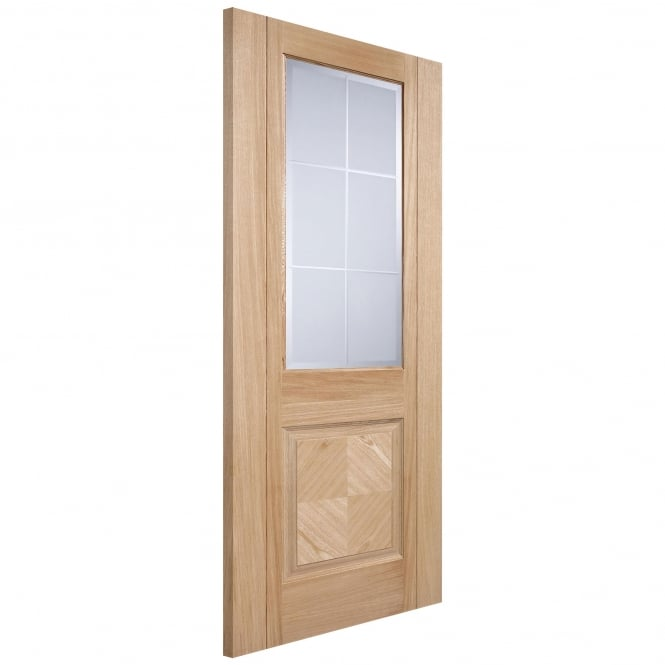 Internal Oak Fully Finished Valencia Supermodel Door