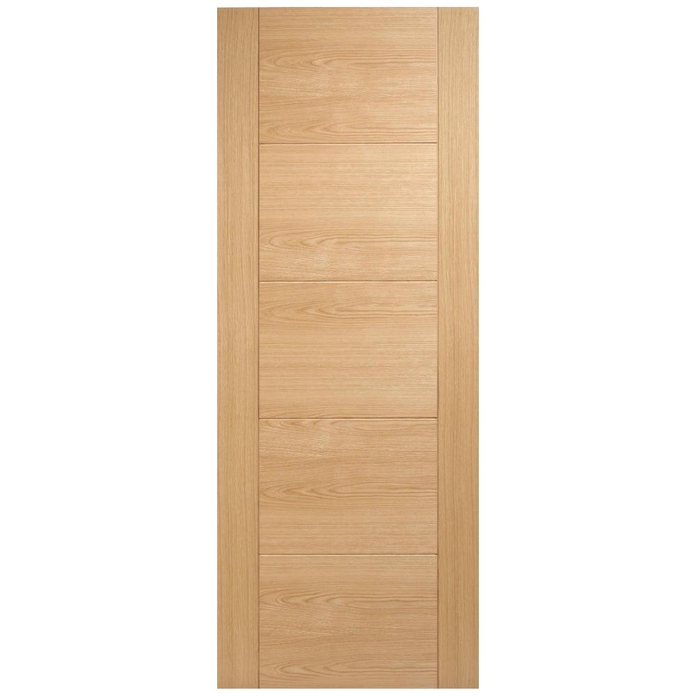Internal Oak Fully Finished Vancouver 5 Panel Supermodel Door