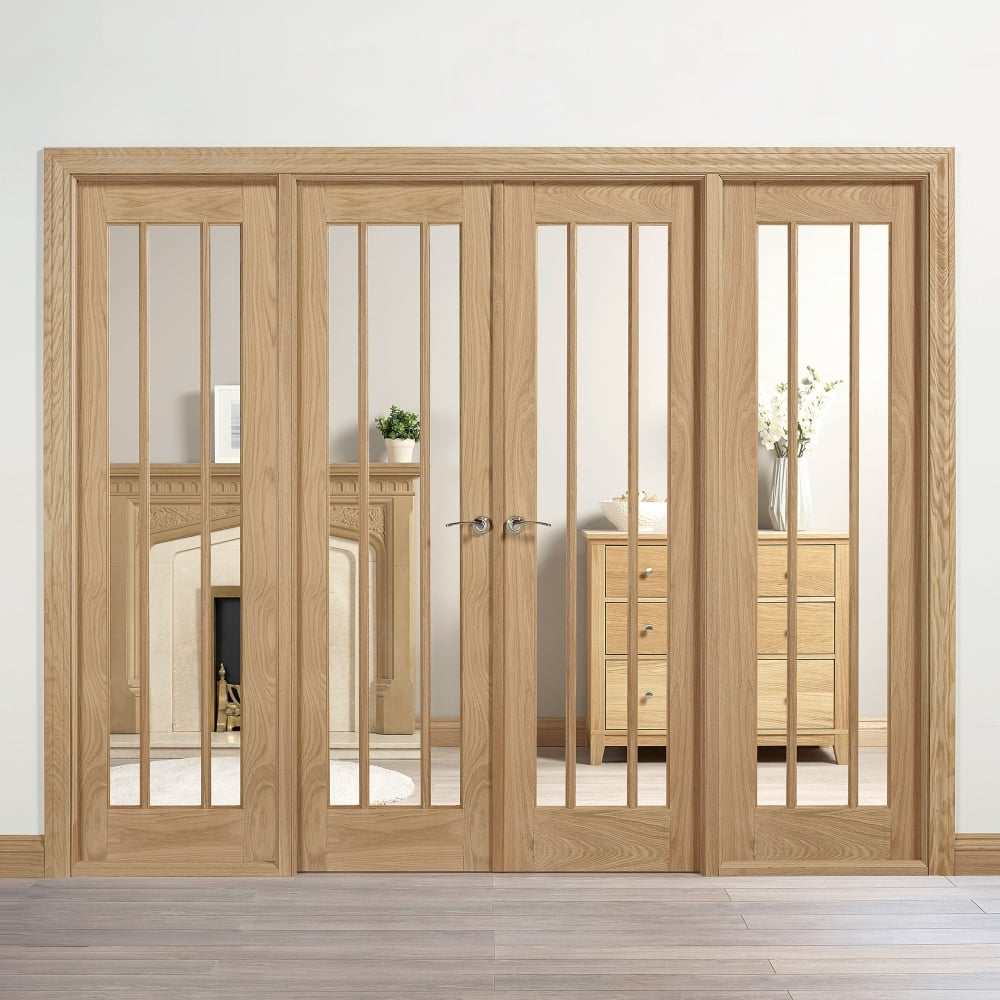 Lpd Internal Oak Unfinished Lincoln Room Divider Leader