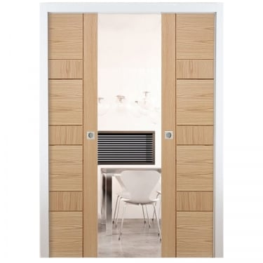 Internal Pocket Double Door System Set