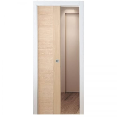 Internal Pocket Single Door System Set