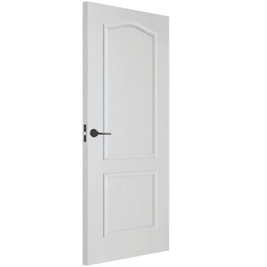 Internal White Moulded Unfinished Classical FD30 Fire Door