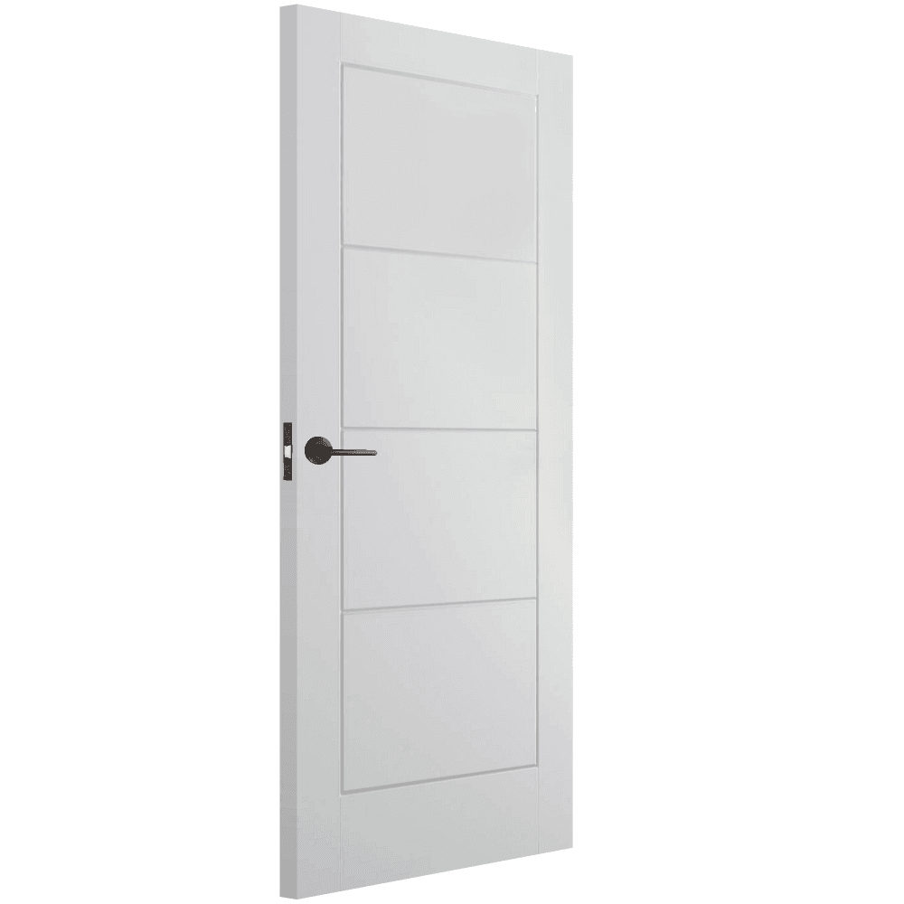 Internal White Moulded Unfinished Smooth Ladder Door (SMOLAD)  sc 1 st  Leader Doors & LPD Internal White Moulded Unfinished Smooth Door | Leader Doors