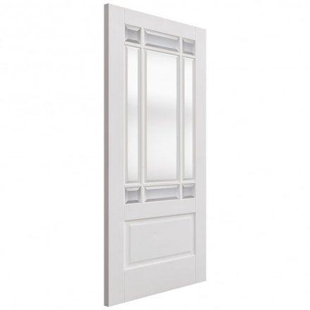 Clear bevelled glass internal white doors internal white primed downham 9l door with clear bevelled glass planetlyrics Images