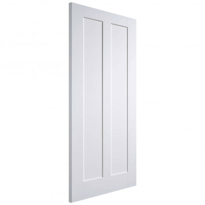 LPD Internal White Primed Maine 2P FD30 Fire Door