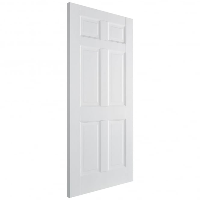 Internal White Primed Regency 6 Panel Door