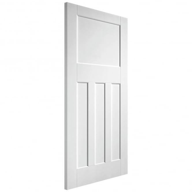 Internal White Primed Solid Core DX 30s Style Fire Door