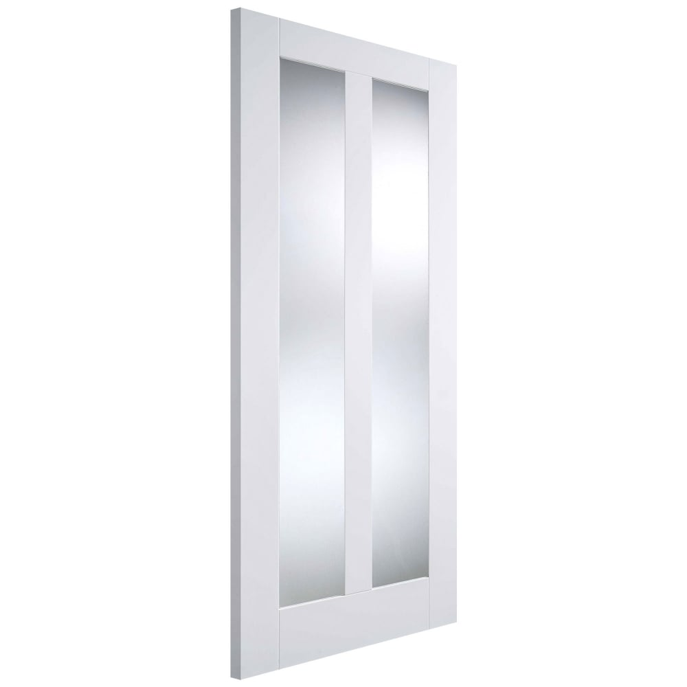 Lpd Vermont White Primed Panelled Internal Door Leader Doors