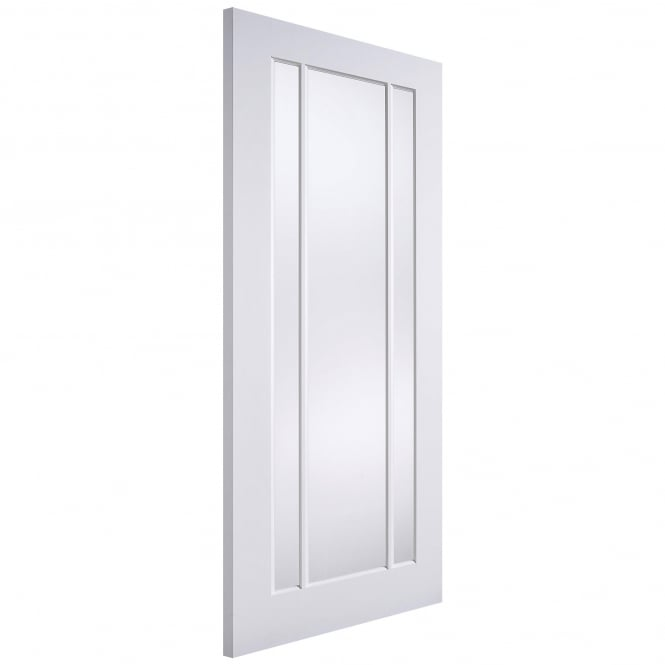LPD Doors Lincoln Internal White Primed Door with Clear Glass