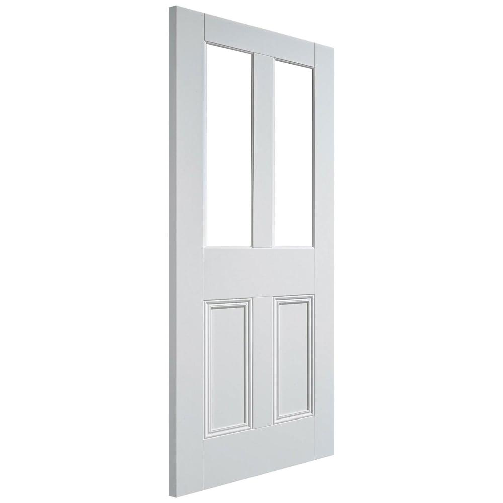 Malton Unglazed Internal White Primed 2 Light 2 Panel Door  sc 1 st  Leader Doors & LPD Malton White Primed Unglazed Internal Door   Leader Doors pezcame.com