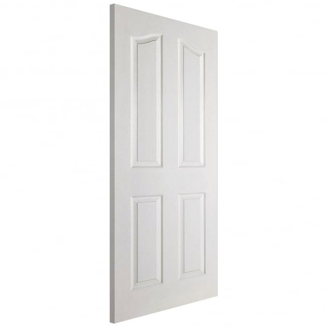 Mayfair Internal White Moulded 4 Panel Door