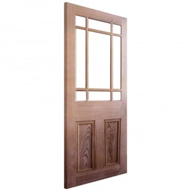 LPD Nostalgia Downham Unglazed Unfinished Internal Pitch Pine Door