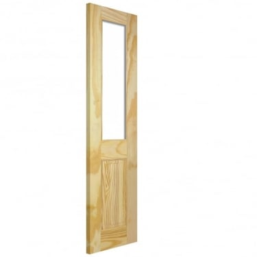 LPD Doors Richmond Unglazed Unfinished Internal Clear Pine Half Door