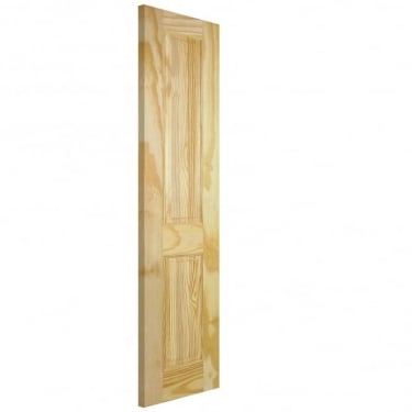 LPD Doors Unfinished Internal Clear Pine 2 Panel Door