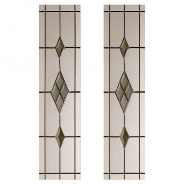 Malton 2 Piece Smoked ABE-Lead Glass Pack