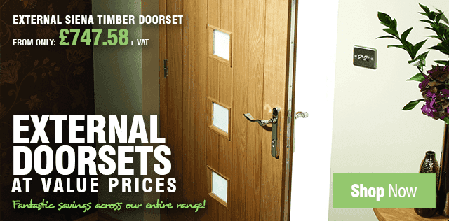 External Doorsets at Value Prices