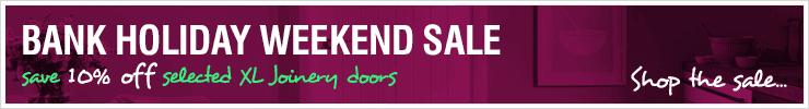 Bank Holiday Sale at Leader Doors