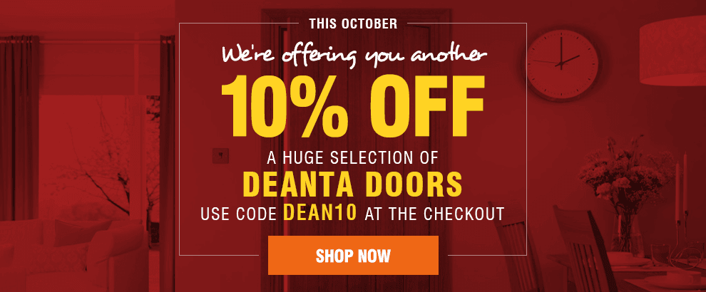 October Promotions - 10% off Selected Deanta Doors!