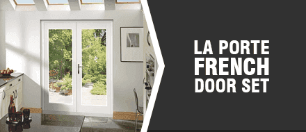La Porte French Door Set