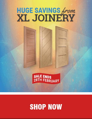 Spring Savings on XL Joinery at Leader Doors