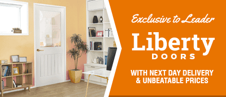 Liberty Doors - Brand New & Exclusive To Leader Doors